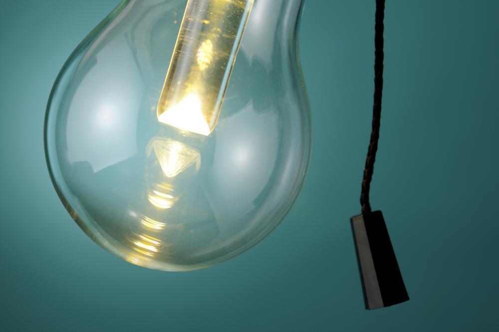 LED Bulb Eats Car, Illuminates Kids