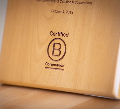 Abacus is a certified B Corp