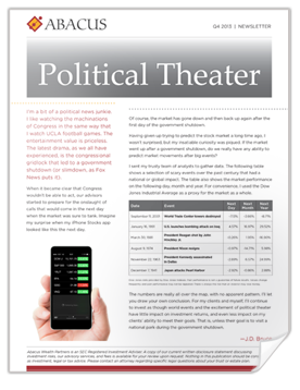 Political Theater | Q4 2013 Client Newsletter